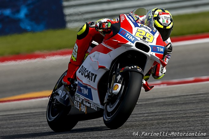 """MotoGP Austin: Andrea Iannone, """"Giornata strana, ma resto fiducioso per la gara"""""""