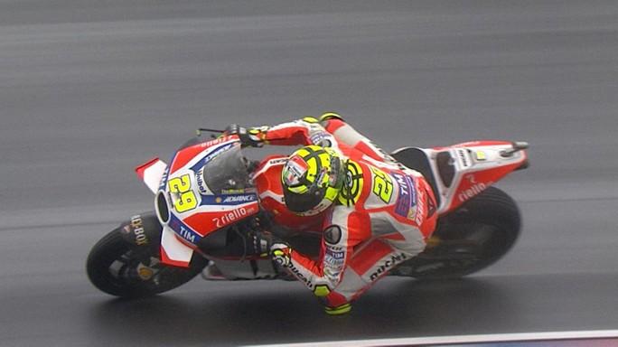 MotoGP Argentina, Warm Up: Iannone precede Pedrosa e Marquez, Rossi è quinto