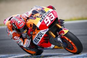 """MotoGP Test Jerez: Marc Marquez """"Soddisfatto dalla nuova ala tripla e dalle nuove gomme"""""""