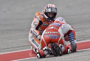 """MotoGP Austin: Dani Pedrosa """"Ho fatto un piccolo errore, meno male che Dovizioso sta bene"""""""