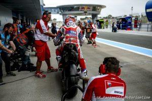"""MotoGP Jerez, Andrea Dovizioso: """"Peccato per questo ritiro, ma sono fiducioso questa moto è migliore della 2015"""""""