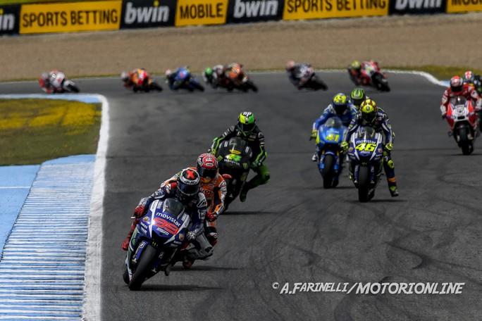 MotoGP Jerez, Prove Libere 4: Lorenzo al Top, Rossi è terzo