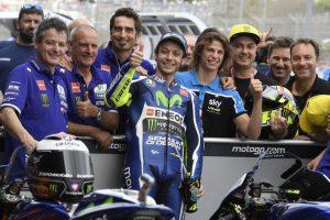 """MotoGP Jerez: Valentino Rossi, """"Arrivare in tre all'ultima curva? Potrebbe vincere il quarto!"""""""
