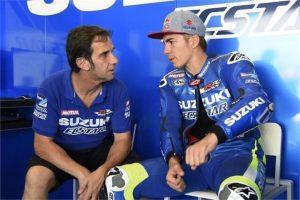 """MotoGP Jerez: Maverick Vinales """"Oggi non ho cercato il best lap, sono sereno perchè Espargarò va forte"""""""