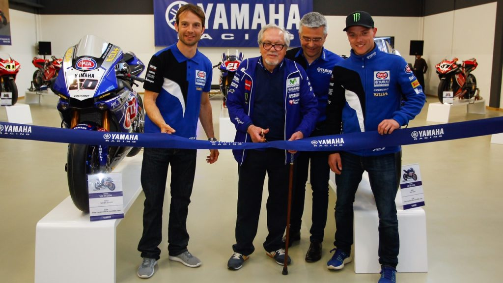 "Superbike Imola: Yamaha inaugura il suo ""tempio"" vicino a Bologna"