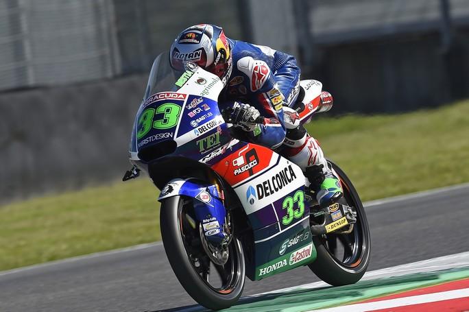 Moto3 Mugello: seconda e quarta fila per Bastianini e Di Giannatonio