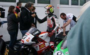 CIV Vallelunga Moto3: Mattia Casadei del Team Sic58 vince Gara 2