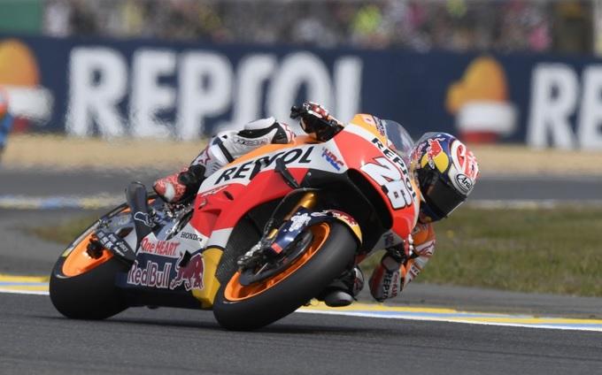 """MotoGP Le Mans: Dani Pedrosa """"La giornata era iniziata bene ma poi mi son perso"""""""