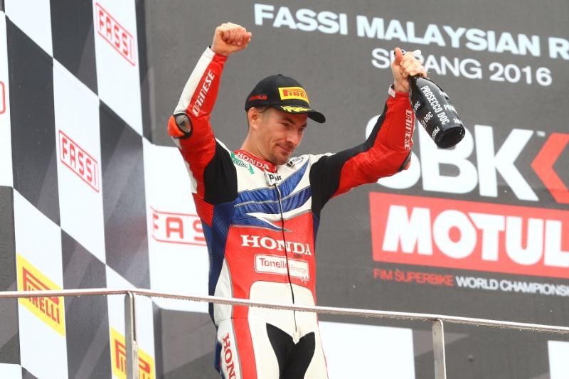 Superbike Malesia, Gara 2: Nicky Hayden vince sotto la pioggia