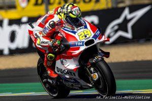 """MotoGP Le Mans: Andrea Iannone, """"Siamo andati forte, ho un buon feeling"""""""