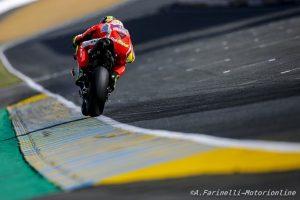 MotoGP Le Mans, Warm Up: Ducati al Top con Iannone, Rossi è sesto