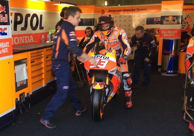 """MotoGP Le Mans, Marc Marquez """"La nuova gomma è simile alle vecchie, abbiamo ancora tanto da fare"""""""