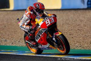 """MotoGP Qualifiche Le Mans: Marc Marquez """"Domani l'obiettivo è salire sul podio, Lorenzo ha un altro ritmo"""""""