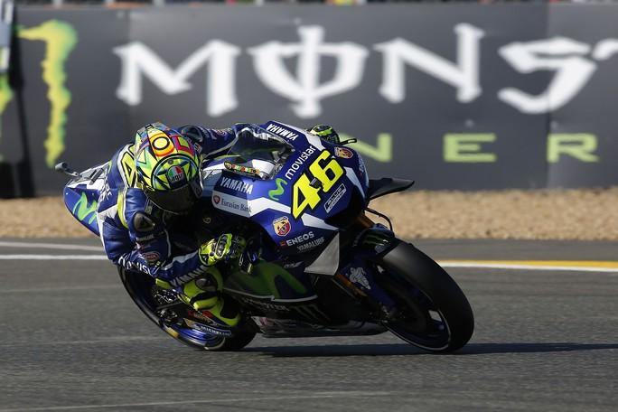 """MotoGP Le Mans: Valentino Rossi, """"Domani mattina ultima chance per recuperare"""""""