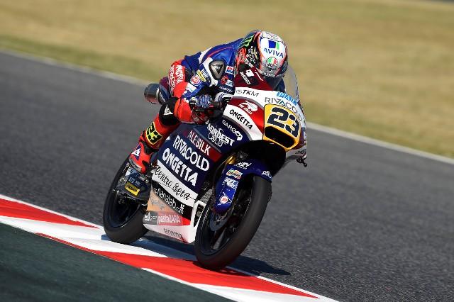 """Moto3 Barcellona, Niccolò Antonelli: """"Giornata positiva e posso migliorarmi ancora"""""""