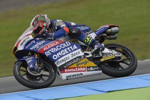 Moto3 Assen: Antonelli 13° dopo una doppia caduta