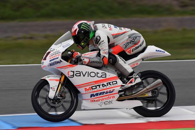 Moto3 Assen: Pecco Bagnaia 10° penalizzato dalla pioggia