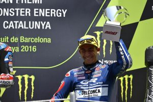 Moto3 Barcellona: splendido podio per Bastianini, anche Di Giannatonio nella top-10