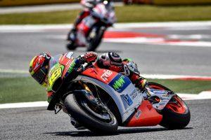 MotoGP Barcellona: Bautista 8° miglior risultato Aprilia, Bradl 12°