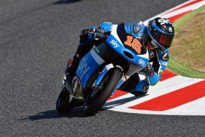 Moto3 Barcellona: Migno 7°, davanti ai compagni Fenati 8° e Bulega 14°