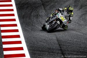 MotoGP Test Barcellona: Crutchlow è il più veloce, Rossi undicesimo
