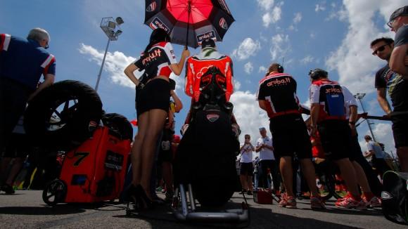 Superbike Misano: Chaz Davies è molto deluso del suo fine settimana