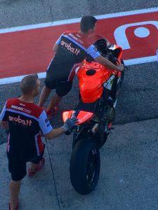 Superbike, test Misano: Concluso positivamente il lavoro per Ducati