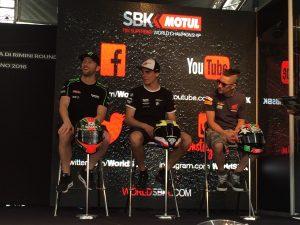 Superbike Misano: La parola ai protagonisti delle prove libere