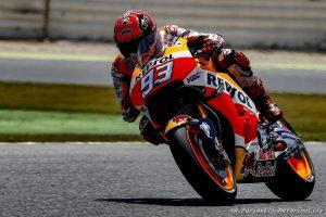 MotoGP Barcellona, Prove Libere 4: Marquez è il più veloce, Rossi è settimo
