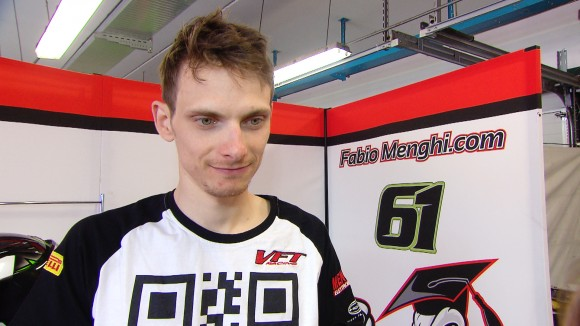 Superbike Misano: Fabio Menghi proverà a migliorare in velocità