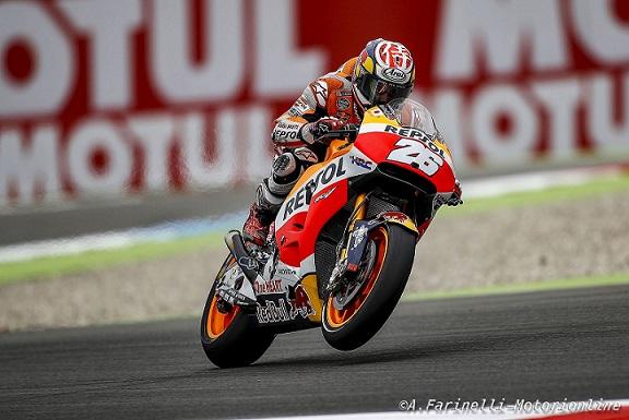 "MotoGP Assen: Dani Pedrosa ""Stamane sono caduto senza motivo, domani devo spingere al massimo"""