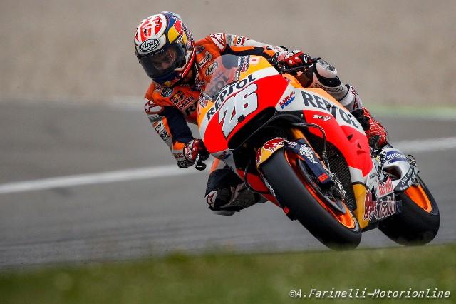 """MotoGP Assen: Dani Pedrosa """"Se non fermavano la gara li passavo tutti, ero a mio agio sulla pista allagata"""""""