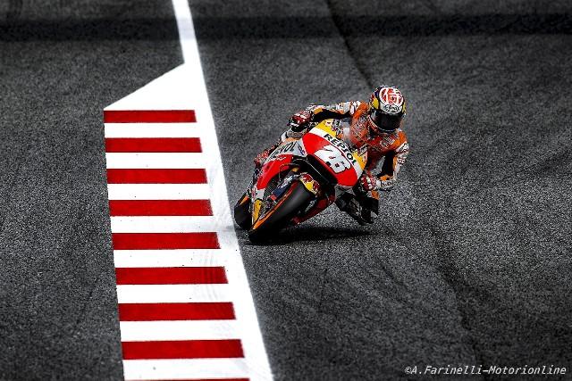 """MotoGP Barcellona: Dani Pedrosa """"Contento del podio, non capisco però l'aggressività di Vinales"""""""
