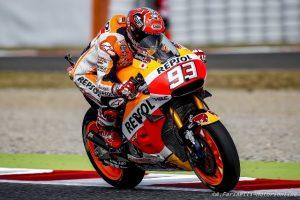 """MotoGP Barcellona: Marc Marquez """"Che duello con Rossi, abbiamo regalato spettacolo in ricordo di Luis"""""""