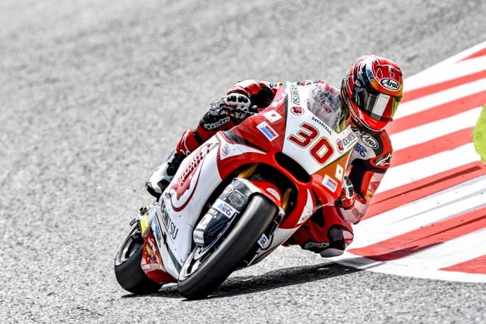 Moto2 Barcellona, Warm Up: Nakagami davanti a Morbidelli