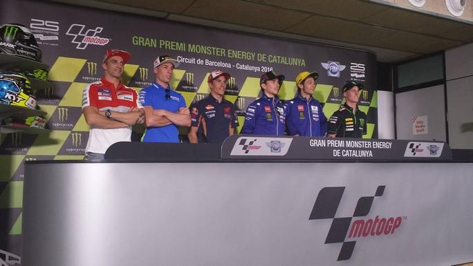 """MotoGP Barcellona: Valentino Rossi, """"Per il titolo è dura, pensiamo gara per gara"""""""