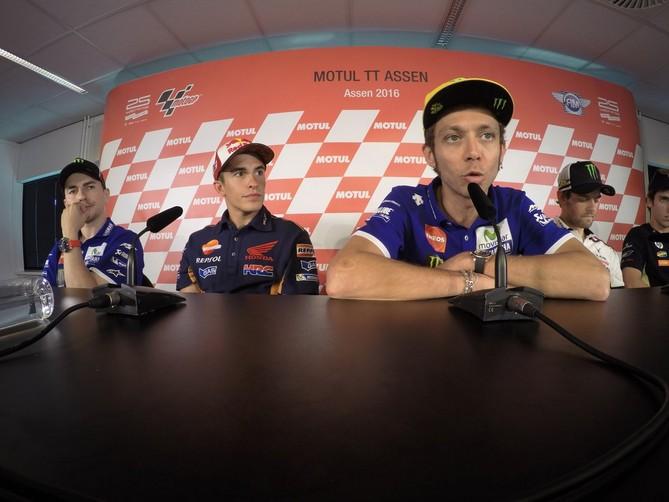 """MotoGP Assen: Valentino Rossi, """"La decima da 'regista' sensazione speciale"""""""