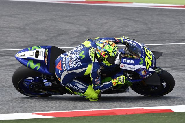"""MotoGP Test Barcellona: Valentino Rossi """"Buone le nuove Michelin, ma domani abbiamo ancora tanto da provare"""""""
