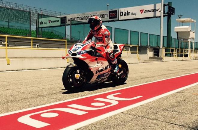 MotoGP: Casey Stoner in pista a Misano