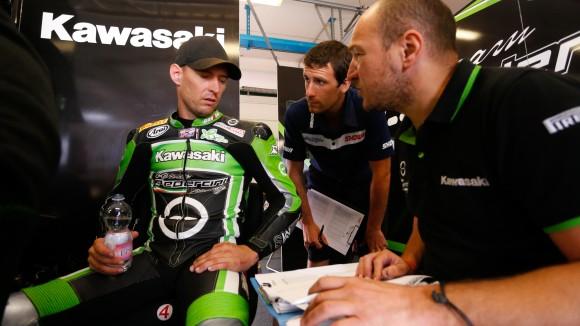 Superbike, test Misano: Nuovo telaio per Anthony West