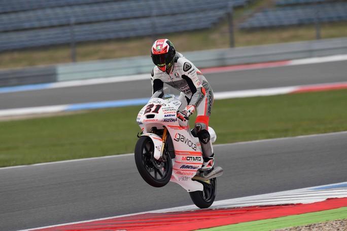 Moto3 Sachsenring: Bagnaia punta al bis