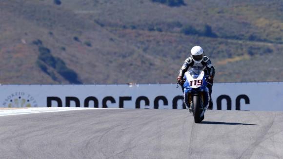 Superbike Laguna Seca, Gara 2: piccolo infortunio per Pawel Szkopek