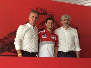 World Ducati Week 2016: parola a Casey Stoner
