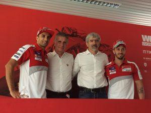 World Ducati Week 2016: le parole del team Ducati nei giorni di festa per i 90 anni