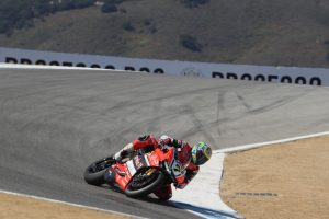 Superbike Laguna Seca, FP2: Chaz Davies chiude in testa le libere