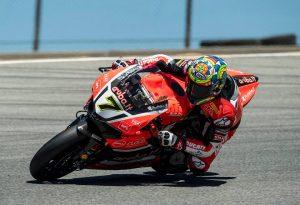 Superbike Laguna Seca, Prove Libere: Chaz Davies chiude al top