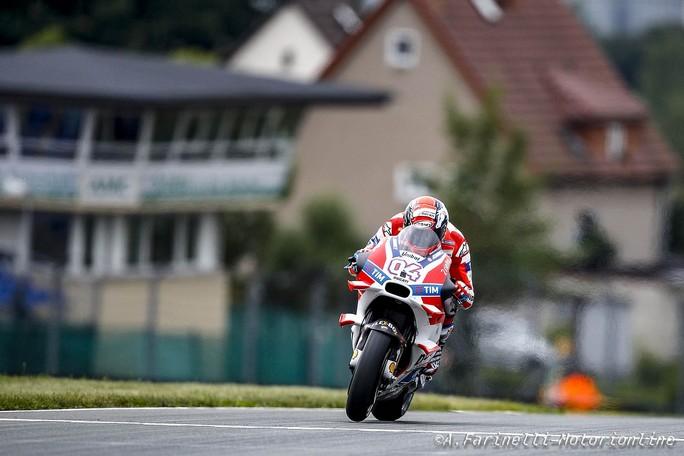 """MotoGP Sachsenring: Andrea Dovizioso, """"Sono abbastanza contento"""""""