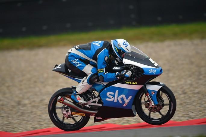 Moto3 Sachsenring, Prove Libere 1: Fenati al Top, Bastianini è terzo