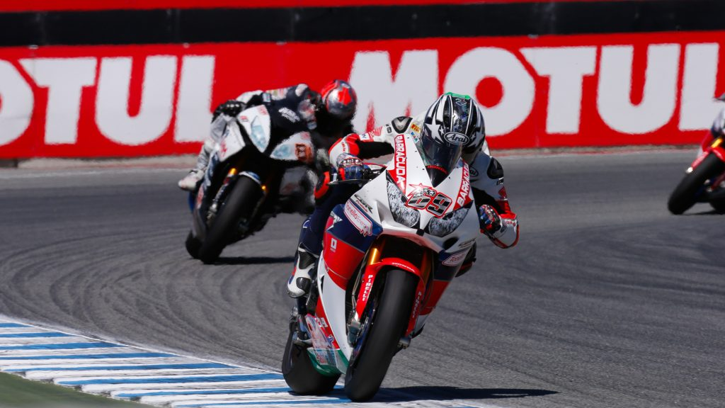 Superbike Laguna Seca, Gara 2: Weekend positivo per Honda