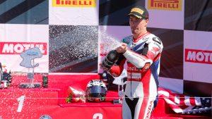 Superbike Laguna Seca, Gara 1: Terzo posto per Nicky Hayden